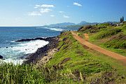 Featured Prints - Kauai Coast Print by Kicka Witte