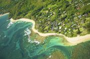 Featured Prints - Kauai Coastal Aerial Print by Kicka Witte