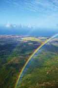 Kauai Double Rainbow Print by Kicka Witte