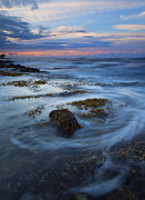 Kauai Tides Print by Mike  Dawson