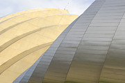 Kansas City Metal Prints - Kauffman Center for Performing Arts Metal Print by Mike McGlothlen