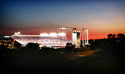 All-star Framed Prints - Kauffman Stadium Sunset Shot Framed Print by Raye Pond