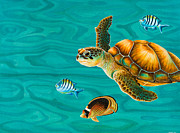 Emily Brantley - Kauila Sea Turtle