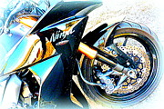 The Creative Minds Art and Photography - Kawasaki Ninja closeup