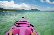 Charmian Vistaunet - Kayaking in Kaneohe Bay
