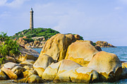 Binh Prints - Ke Ga Lighthouse - Binh Thuan - Vietnam Print by Hoang Tran