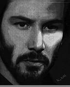 Keanu Prints - Keanu Print by Kami Catherman