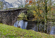 Packhorse Prints - Kearton Packhorse Bridge Print by Trevor Kersley