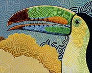 Toucan Originals - Keel-billed Toucan by Nathan Miller