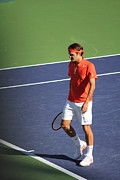 Federer Photos - Keep calm and win by Alberto Marquez