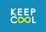 Encouragement Digital Art - Keep Cool Forever by Budi Satria Kwan