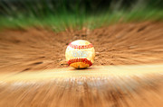 Pro Baseball Posters - Keep Your Eye On The Ball Poster by Tina Meador