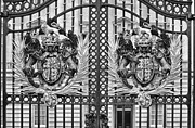 Keepers House Photos - Keepers of the Gate BW by Christi Kraft
