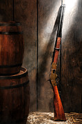 Rifle Photo Posters - Keeping the Stockroom Poster by Olivier Le Queinec