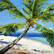 Stacy Vosberg Prints - Keiki Palm Print by Stacy Vosberg