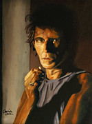 Keith Richards Painting Originals - Keith by Bonnie Perlin