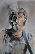 Keith Richards Drawings - Keith by Hendrik Hermans