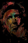 Manager Framed Prints - Keith Richards Framed Print by Jack Zulli