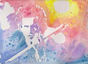 Keith Richards Painting Originals - Keith by Robert Nipper