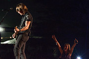 Live Music Prints - Keith Urban 4 Print by Mike Burgquist