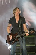 Country Music Keith Urban Posters - Keith Urban Poster by Front Row  Photographs