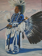 George Chacon - Kel Rainer pow wow dancer