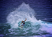 Ocean Art Photos Originals - Kelly Slater 2 by Heng Tan