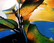Kelp Paintings - Kelp 1 by Mark  Corrigan