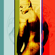 Erotic Naked Man Prints - Kelvin Print by Chris  Lopez