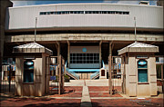 Stadium Design Art - Kenan Memorial Stadium - Gate 6 by Paulette Wright
