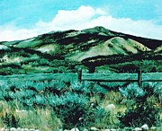 Wyoming Paintings - Kennedy Peak in Wyoming by Terri Ana Stokes