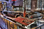 Kennedy Digital Art Framed Prints - Kennedy Presidential Limousine Henry Ford Museum Dearborn MI Framed Print by Photographartist Nicholas Grunas