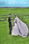 Camelot Prints - Kennedy Wedding Print by Jost Houk