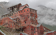 Alaska Gold Mine Prints Photos - Kennicott Mine1 by Chris Lindner