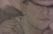Tennessee Drawings - Kenny Chesney by Christy Brammer