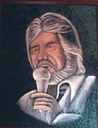 Kenny Rogers Prints - Kenny Print by Neeka Cheesebrough