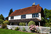 Country Cottage Prints - Kentish Cottage Print by James Brunker