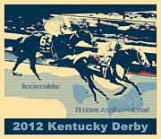 Kentucky Derby Prints - Kentucky Derby Champion Print by RJ Aguilar