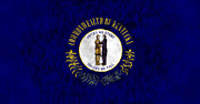 Kentucky Digital Art - Kentucky Flag by World Art Prints And Designs