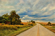 Yellow Line Prints - Kentucky Highways Print by Darren Fisher