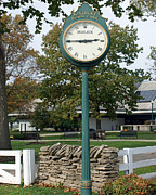 Keeneland Art - Kentucky Horse Park by Roger Potts