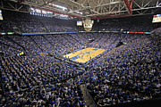 Canvas Wall Art Framed Prints - Kentucky Wildcats Rupp Arena Framed Print by Replay Photos