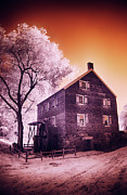 Historic Site Digital Art Prints - Kerr Mill Print by Dan Carmichael