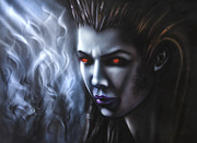 Fan Art Metal Prints - Kerrigan  Metal Print by Lyubomir Kanelov