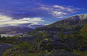 Land Scape Digital Art Prints - Ketchikan 4 Print by Timothy Latta