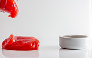 Pour Photos - Ketchup. by Gary Gillette