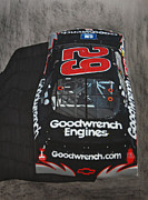 Tire Mixed Media Originals - Kevin Harvick Goodwrench Chevrolet by Paul Kuras