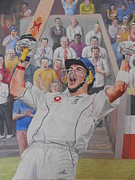 Cricket Originals - Kevin Pieterson by David Paterson