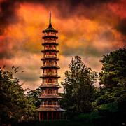 Kew Gardens Pagoda Print by Chris Lord
