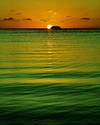 Florida Keys Photos - Key Largo Sundown by Benjamin Yeager